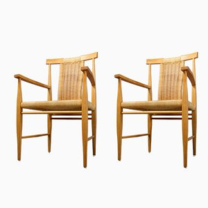 Model 5810 Armchairs by Rudolf Frank for Lucas Schnaidt, 1960s, Set of 2