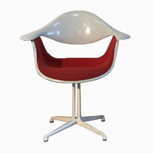 Chaise d'Appoint Modèle La Fonda par George Nelson & Georges-Charles Vanrijk pour Herman Miller, 1960s