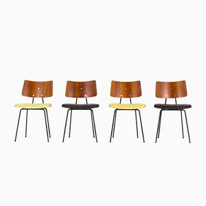 Side Chairs by Robin and Lucienne Day for Hille, 1950s, Set of 4