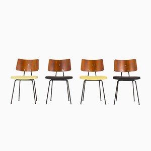 Stühle von Robin und Lucienne Day für Hille, 1950er, 4er Set