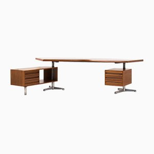 Model T96 Boomerang Desk by Osvaldo Borsani for Tecno, 1950s