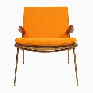 FD-135 Boomerang Chair by Peter Hvidt & Orla Molgaard-Nielsen, 1960s