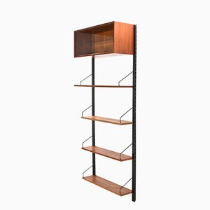 Mid-Century Modern Modular Wall Unit in Teak by Poul Cadovius for Cado, 1960s