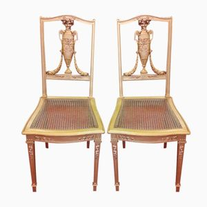 Louis XVI Style Chairs, 1920s, Set Of 2