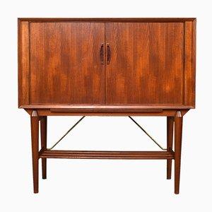 Mueble bar escandinavo de teca, años 50