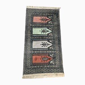 Orientalischer Teppich aus Wolle & Seide, 1960er