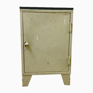 Vintage German Industrial Metal Tool Cabinet