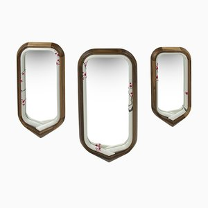 Kimono Mirrors by Helena Costa & Carlos Costa for Alma de Luce, Set of 3