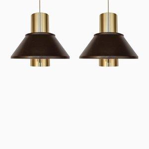 Lampes de Bureau Model Life par Jo Hammerborg pour Fog & Mørup, 1960s, Set de 2