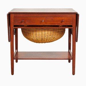 Table de Couture Modèle AT-33 par Hans J. Wegner pour Andreas Tuck, 1960s