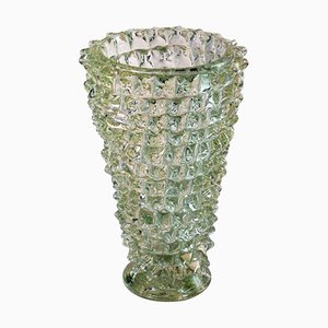 Vintage Murano Glass Vase by Ercole Barovier, 1940s