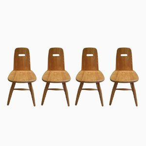 Scandinavian Chairs by Eero Aarnio for Laukaan Puu, 1960s, Set of 4
