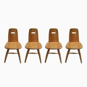 Scandinavian Chairs by Eero Aarnio for Laukaan Puu, 1960s, Set of 4