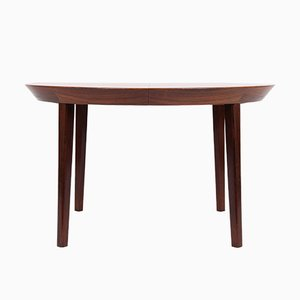 Vintage Rosewood Dining Table by Ole Hald for Gudme Moebelfabrik