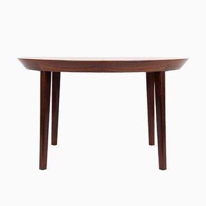 Vintage Rosewood Dining Table by Ole Hald for Gudme Moebelfabrik