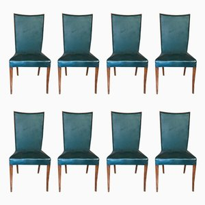 Italian Side Chairs by Vittorio Dassi, 1950s, Set of 8