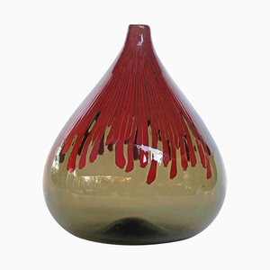 Cannetti Glass Vase by Ludovico Diaz de Santillana for Venini, 1960s
