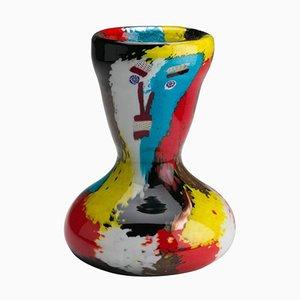 Modell 5299 Geltrude Vase von Dino Martens für Aureliano Toso, 1950er