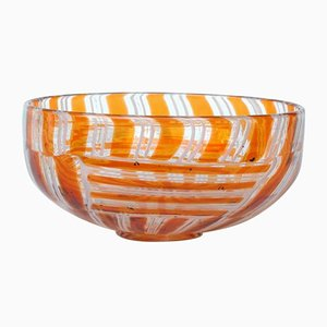 Mid-Century Tessere Bowl by Ercole Barovier for Barovier & Toso, 1950s