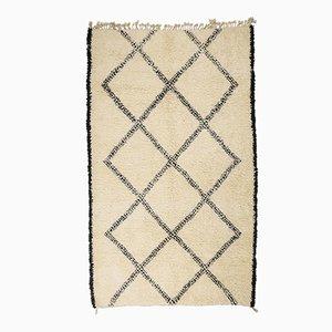 Contemporary Moroccan Berber Carpet from Beni Ouarain
