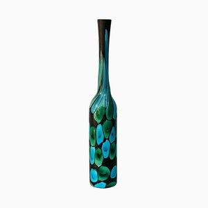 Italian Nerox a Petoni Vase by Ermanno Toso, 1950s