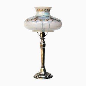 Antike deutsche Tischlampe von Wilkens & Söhne