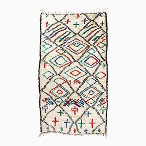Moroccan Berber Rombo y Cruz Azilal Carpet, 1994