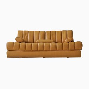DS 85 Leather Sofa Bed from de Sede, 1970s