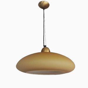 Murano Glas Deckenlampe von Puntoluce, 1960er