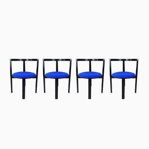 String Chairs by Niels Jørgen Haugesen for Tranekær Furniture, 1980s, Set of 4