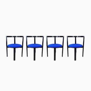 String Stühle von Niels Jørgen Haugesen für Tranekær Furniture, 1980er, 4er Set