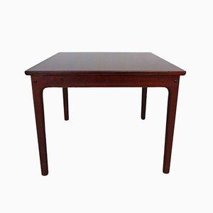 Table Basse ou table d'Appoint en Acajou par Ole Wanscher pour Poul Jeppesens Møbelfabrik, 1965