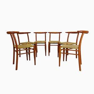 Bullhorn Stühle von Philippe Starck für Driade, 1989, 6er Set