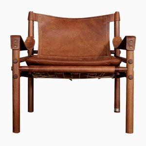 Vintage Sirocco Safari Stuhl von Arne Norell, 1960er
