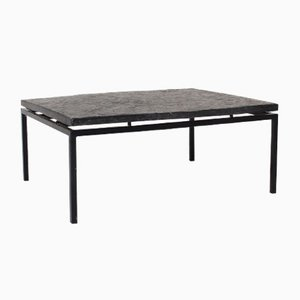 Mid-Century German Slate Top Coffee Table, 1960s
