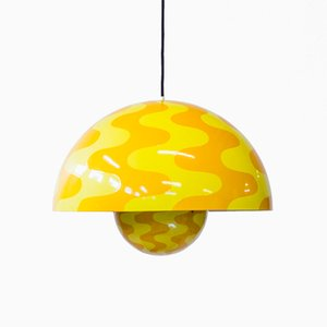 Large Ceiling Lamp by Verner Panton for Louis Poulsen, 1970s