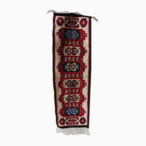 Tappeto Kilim vintage fatto a mano, anni '60