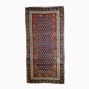 Antiker Kaukasischer Handgemachter Gendje Teppich, 1880er