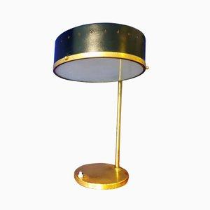 Lámpara de mesa Tambour italiana, años 50