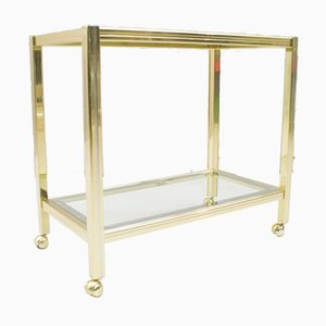 Two-Toned Hollywood Regency Serving Trolley, 1960s