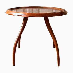 Vintage Italian Coffee Table by Gaetano Borsani for Atelier Di Varedo, 1950s
