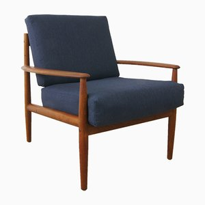 Mid-Century Danish Teak Armchair by Grete Jalk for France and Søn, 1960s