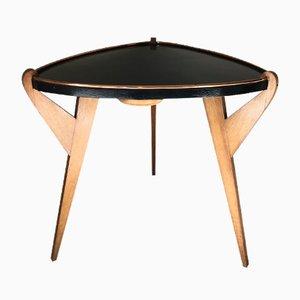 Tavolino da caffè tripode, anni '60