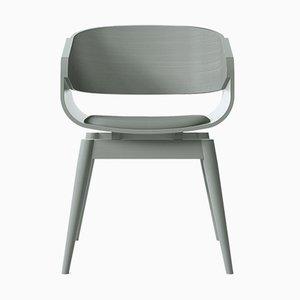 Butaca 4th en gris con asiento acolchado en gris de Almost