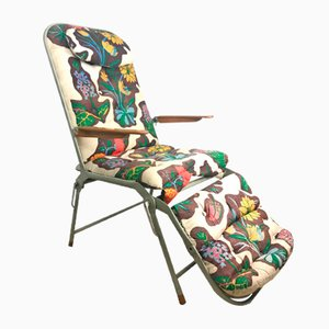 Vintage Vilosov Folding Chair by C. Edvard Lundquist for Lundquist & Tesch AB