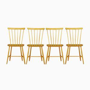 Danish Side Chairs, 1960s, Set of 4