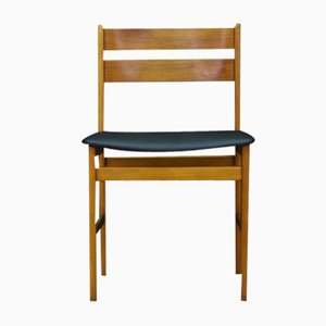 Scandinavian Teak Side Chair, 1970s
