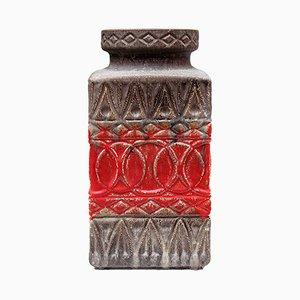 Vaso da terra in ceramica di Bay Keramik, Germania Ovest, anni '60