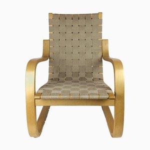 Modell 406 Sessel von Alvar Alto für Artek, 1970