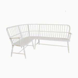 Banc Antique Blanc